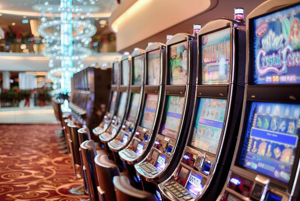 slot machine in casino